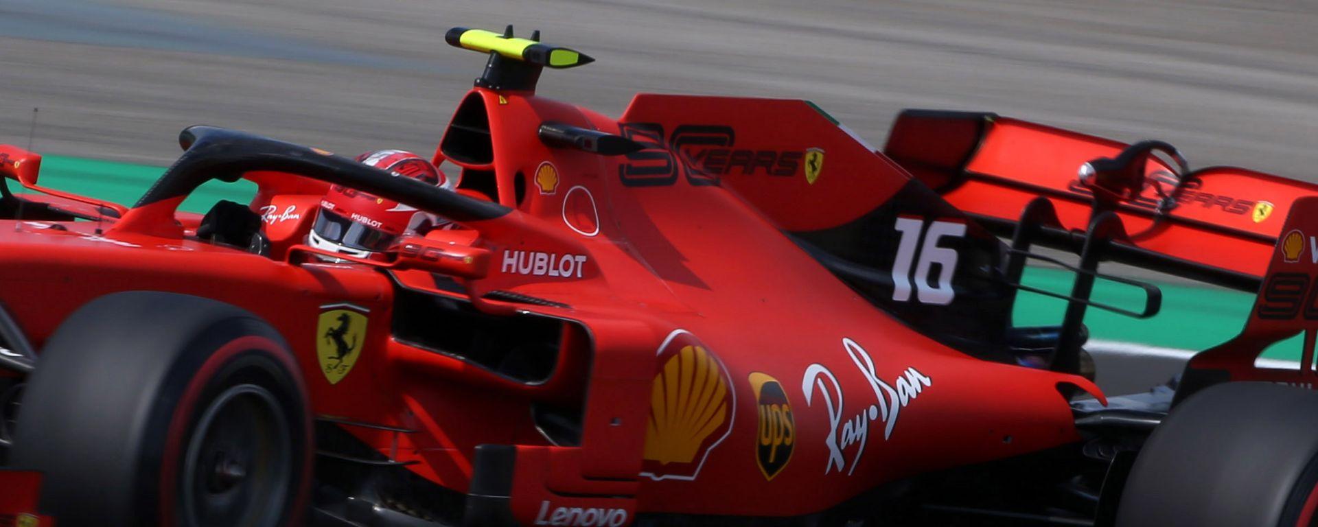 F1 GP Ungheria 2019, Hungaroring (Budapest), Charles Leclerc (Ferrari)