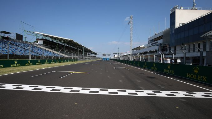 F1 GP Ungheria 2019, la griglia di partenza della pista di Budapest