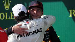 """Verstappen: """"Non ho mai litigato con Hamilton"""""""