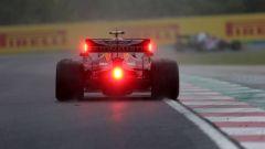 F1 GP Ungheria 2019, Pierre Gasly (Red Bull) è stato il più veloce al termine delle PL2 bagnate