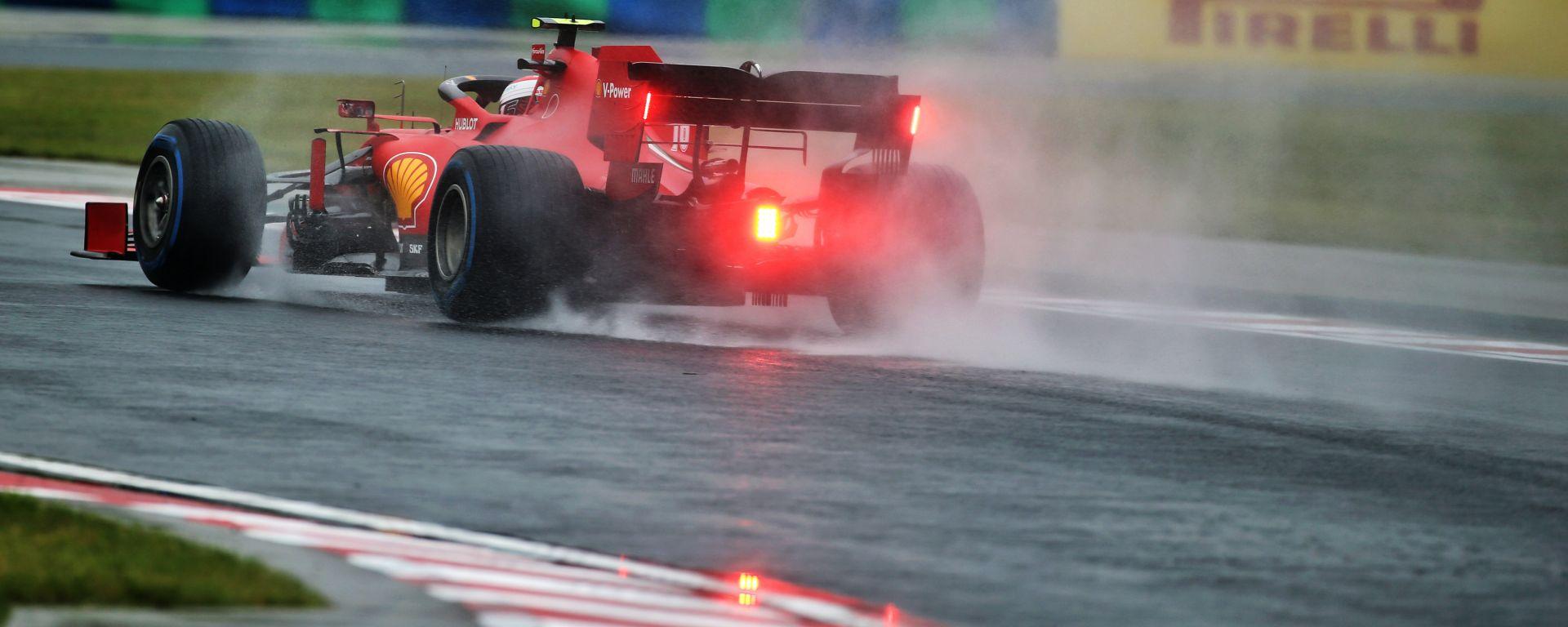 F1 GP Ungheria 2020, Budapest: Charles Leclerc (Ferrari)