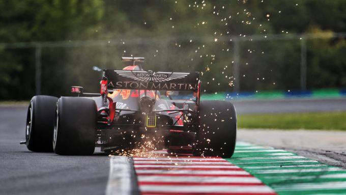 F1 GP Ungheria 2020, Budapest: la Red Bull RB16 di Max Verstappen