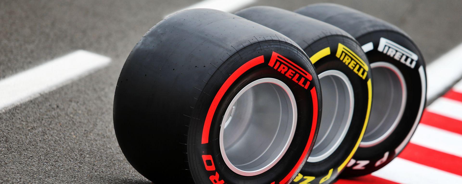 F1 GP Ungheria 2020, Budapest: le gomme P-Zero Pirelli in pista