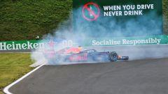 F1 GP Ungheria 2020, Budapest: Max Verstappen (Red Bull) in testacoda nelle PL3