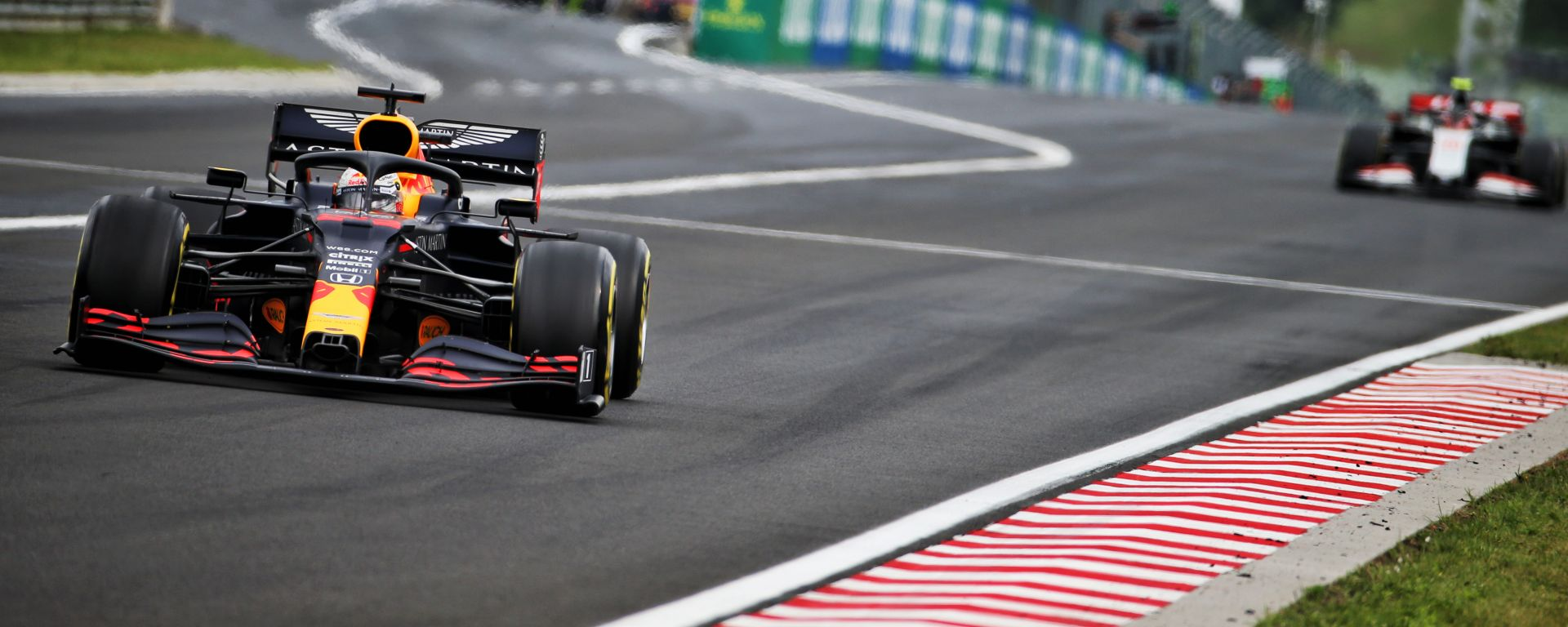 F1 GP Ungheria 2020, Budapest: Max Verstappen (Red Bull)
