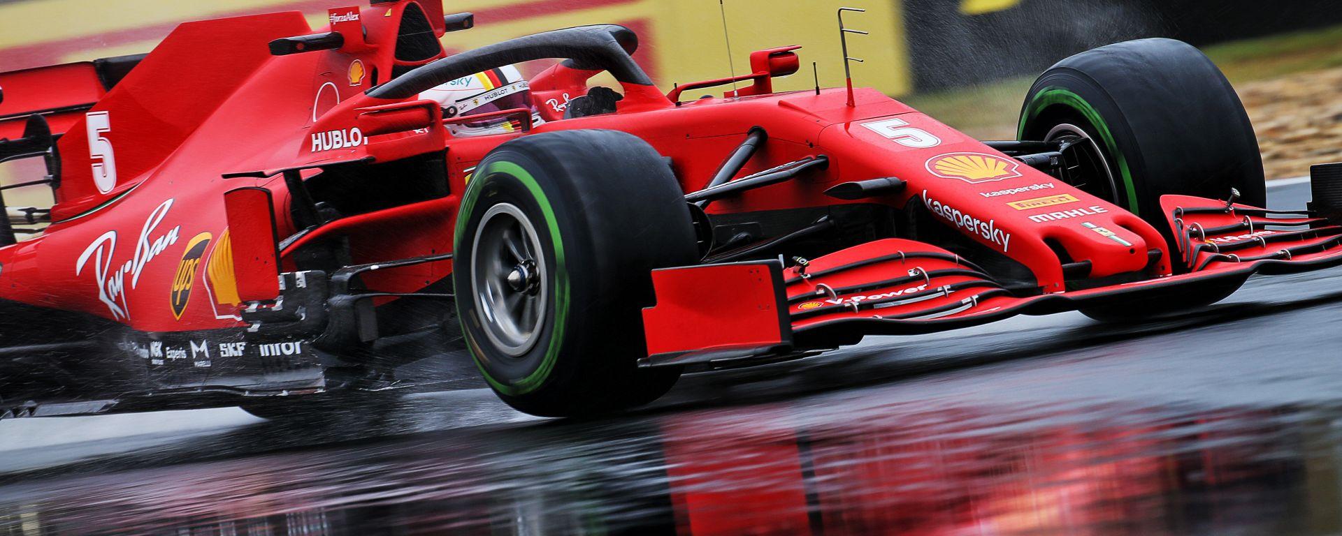 F1 GP Ungheria 2020, Budapest:  Sebastian Vettel (Ferrari)