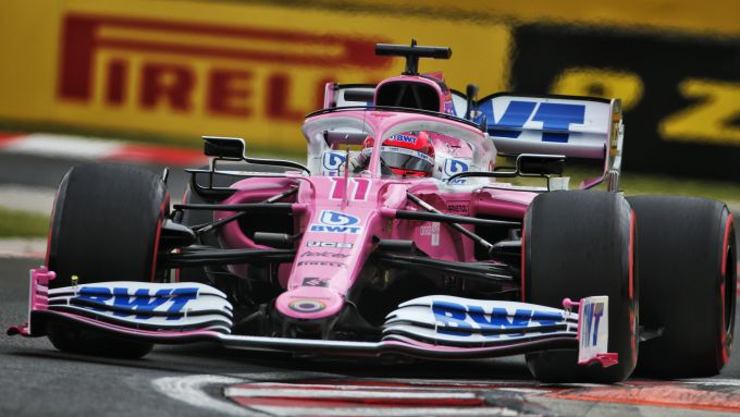 F1 GP Ungheria 2020, Budapest: Sergio Perez (Racing Point)