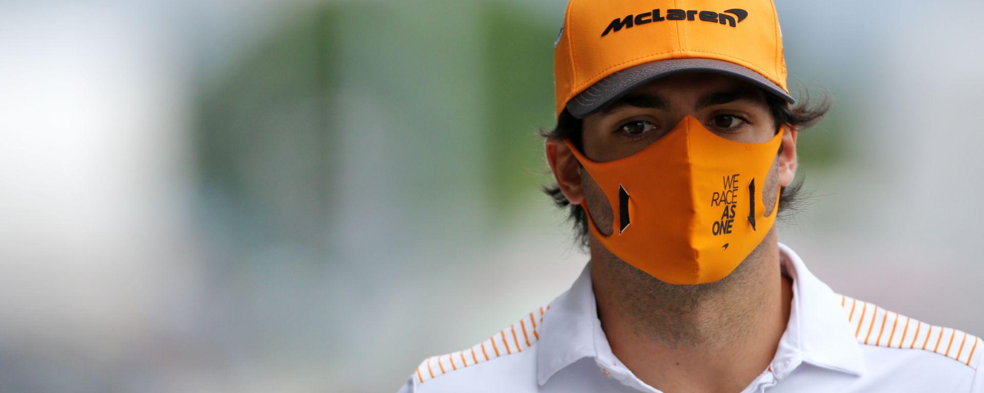 F1, GP Ungheria 2020: Carlos Sainz (McLaren)