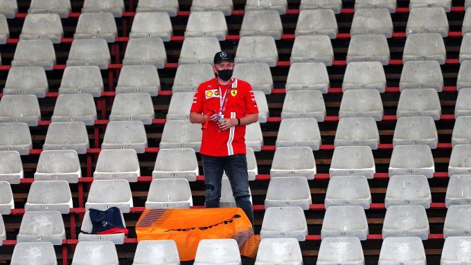 F1, GP Ungheria 2020: il pluritifoso solitario in tribuna