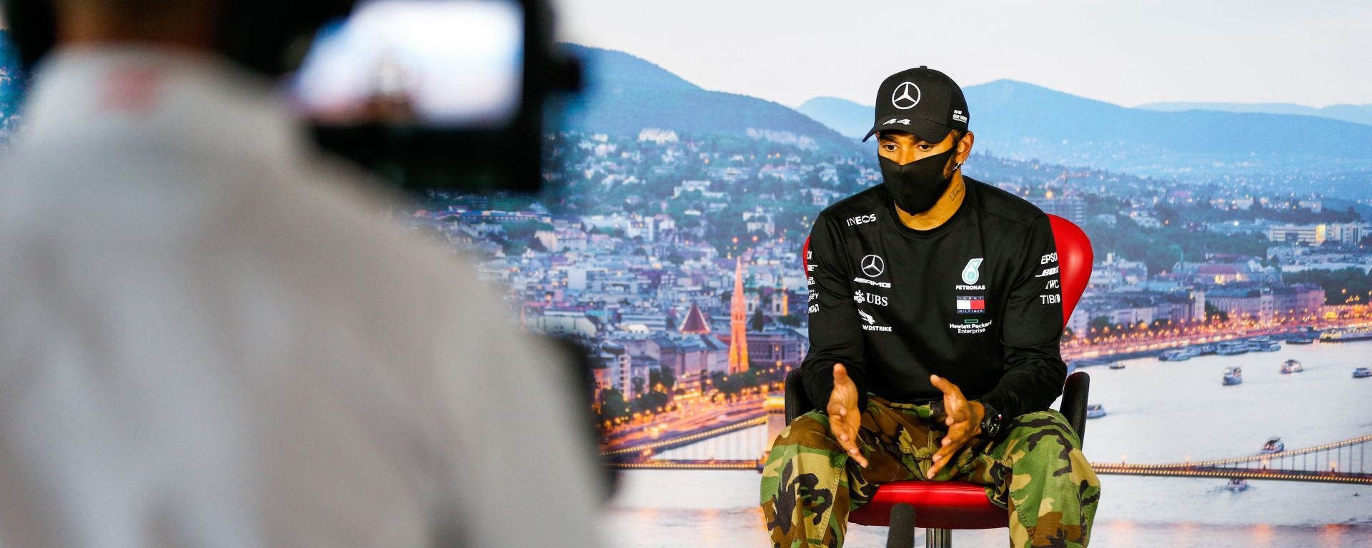 F1, GP Ungheria 2020: Lewis Hamilton (Mercedes)