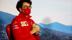F1, GP Ungheria 2020: Mattia Binotto (Ferrari) in conferenza stampa