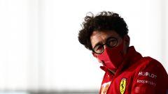 Ferrari, l'ammissione di Binotto