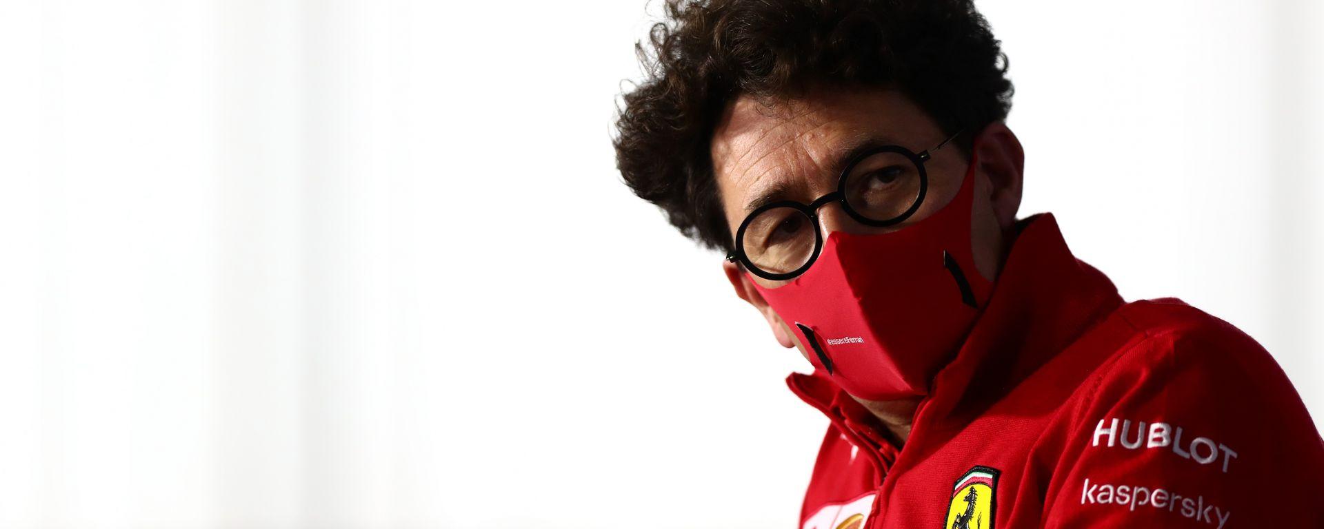 F1, GP Ungheria 2020: Mattia Binotto, team principal Ferrari