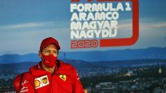 F1, GP Ungheria 2020: Sebastian Vettel (Ferrari) in conferenza stampa