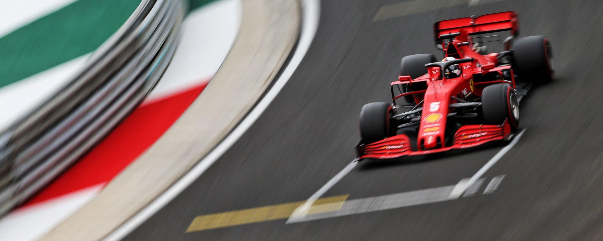 F1, GP Ungheria 2020: Sebastian Vettel (Ferrari)