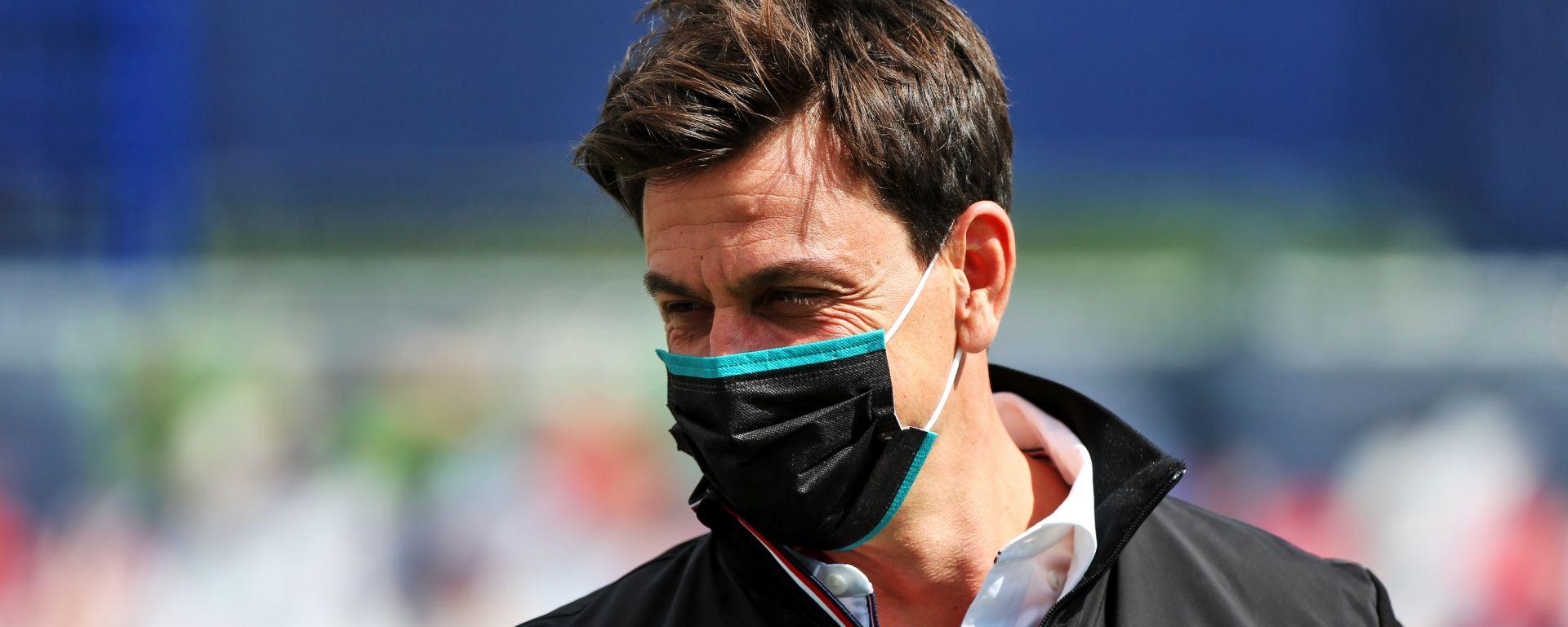 F1, GP Ungheria 2020: Toto Wolff (Mercedes)