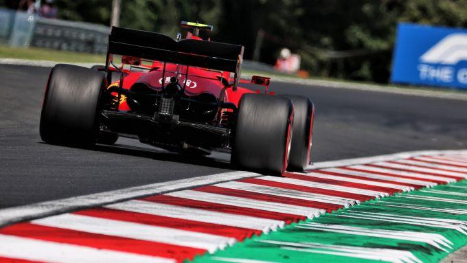 F1 GP Ungheria 2021, Budapest: Carlos Sainz (Scuderia Ferrari)