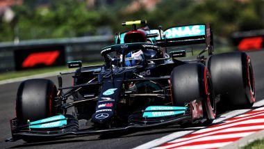 F1, GP Ungheria 2021: Valtteri Bottas (Mercedes)