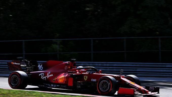 F1 GP Ungheria, Budapest: Charles Leclerc (Scuderia Ferrari)
