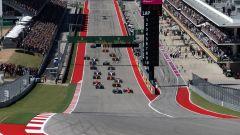 F1 GP USA 2017, Austin, Circuit of The Americas: la partenza