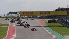 F1 GP USA 2018, Austin, Circuit of The Americas: la partenza