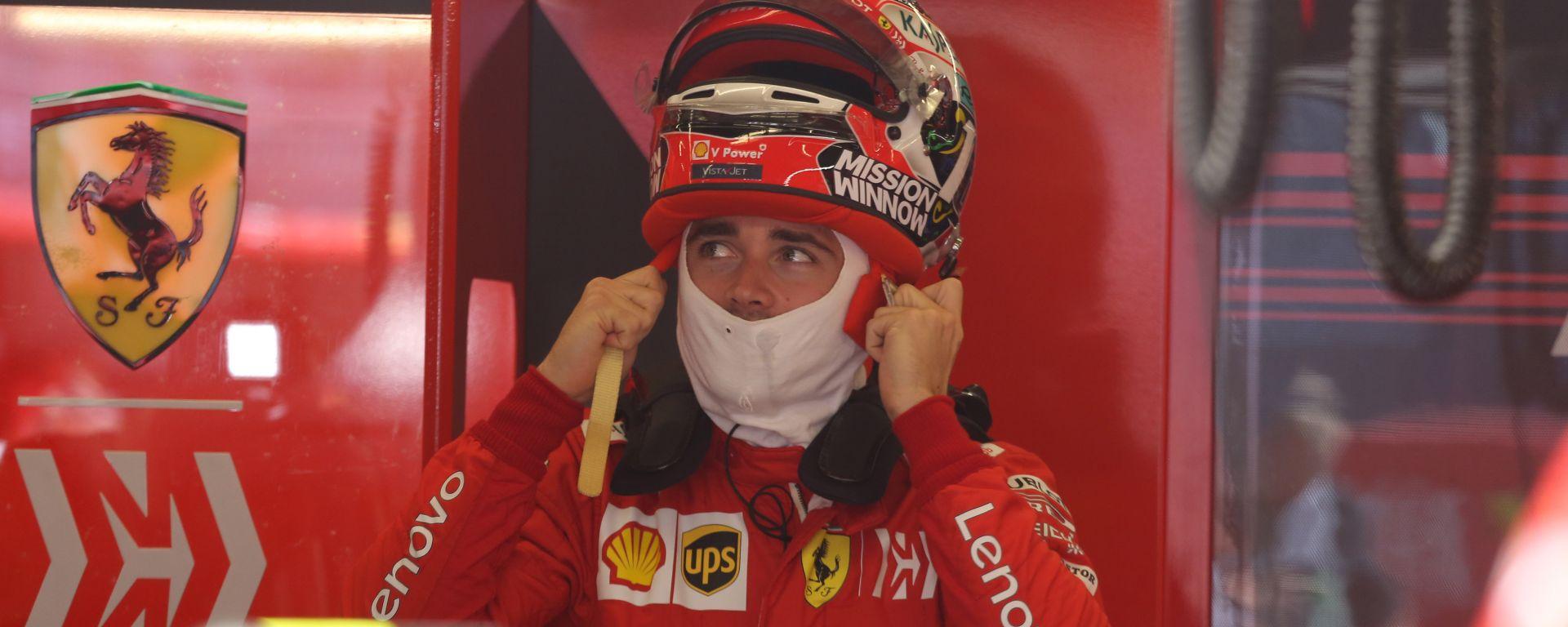 F1 GP USA 2019, Austin: Charles Leclerc (Ferrari)