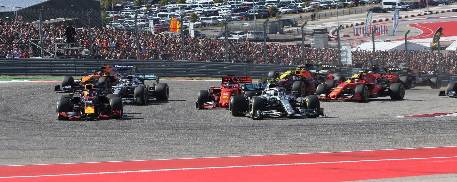 F1 GP USA 2019, Austin: la partenza