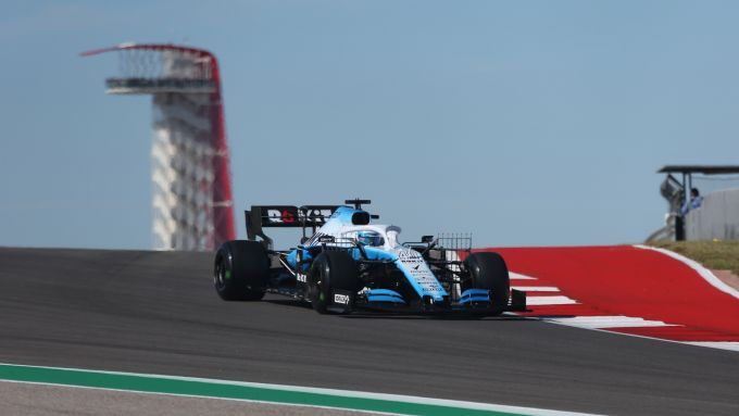 F1 GP USA 2019, Austin: Nicholas Latifi (Williams)