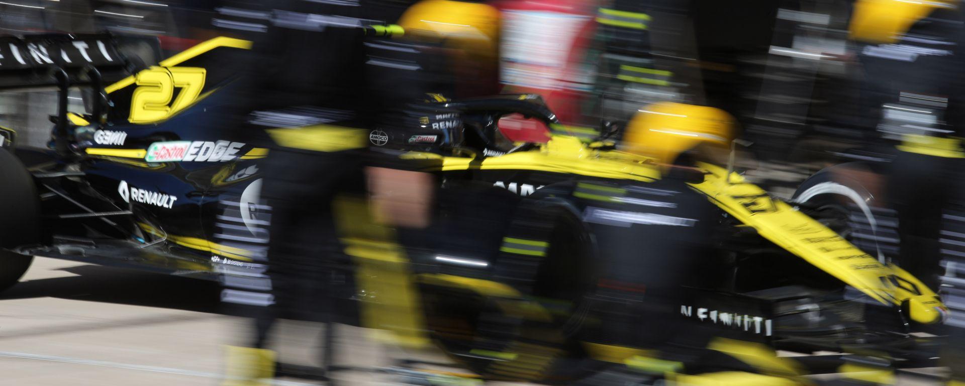F1 GP USA 2019, Austin: Nico Hulkenberg (Renault)