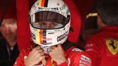 F1 GP USA 2019, Austin: Sebastian Vettel (Ferrari)