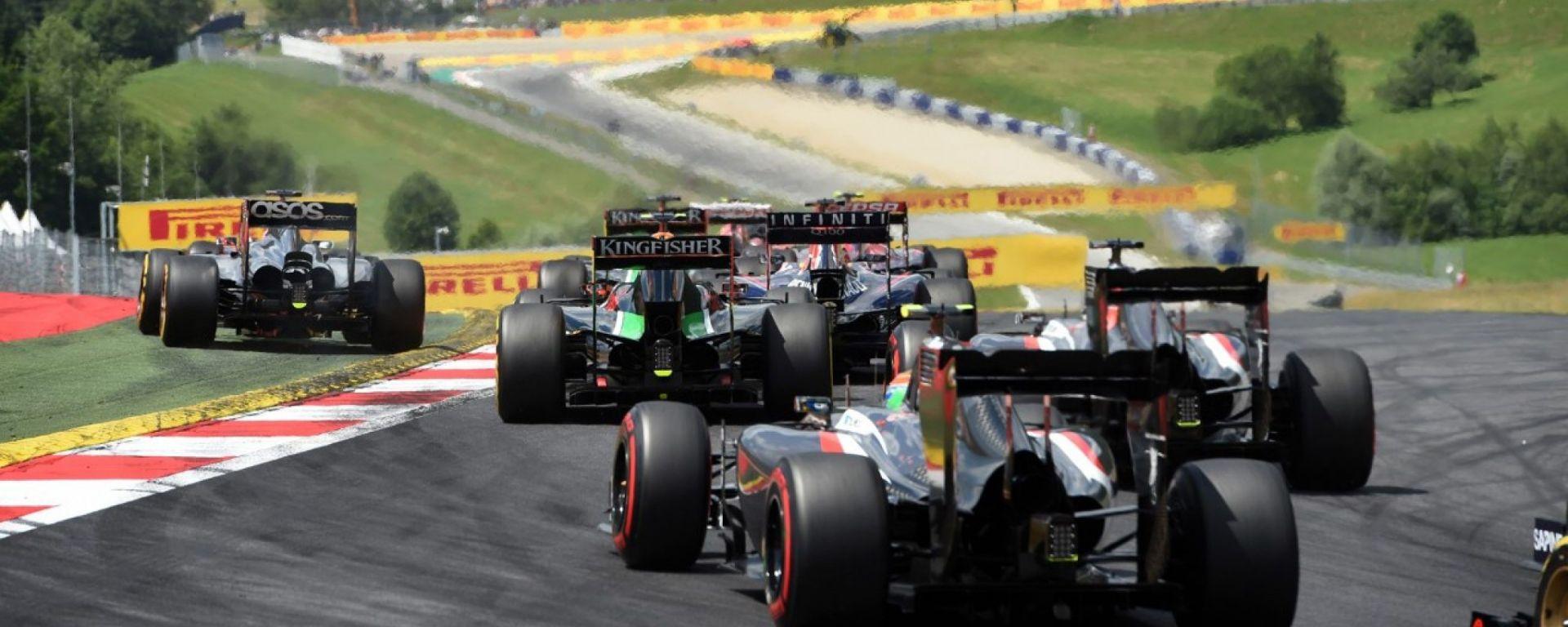 F1 2016 - Gran Premio d'Austria - Info e Risultati