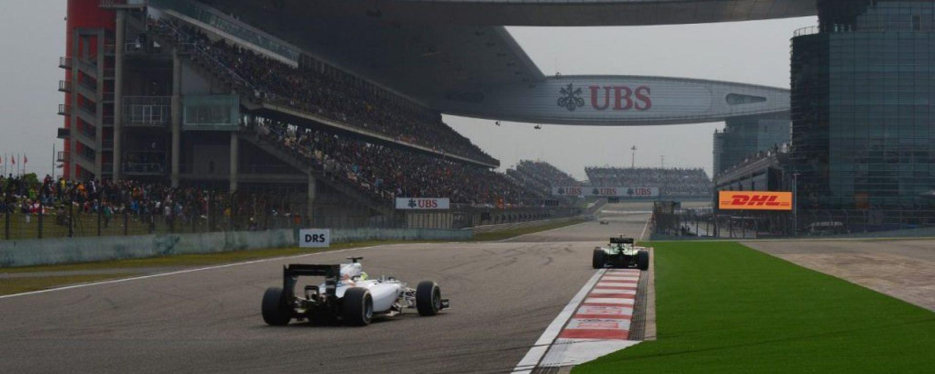 F1 2016 - Gran Premio della Cina - Info e Risultati