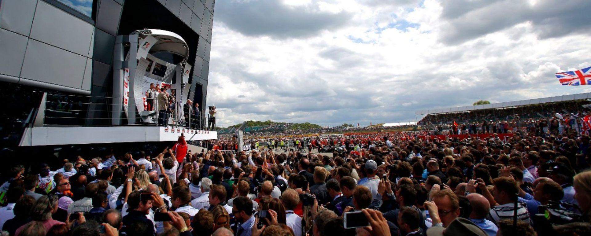 F1 2016 - Gran Premio d'Inghilterra - Info e Risultati