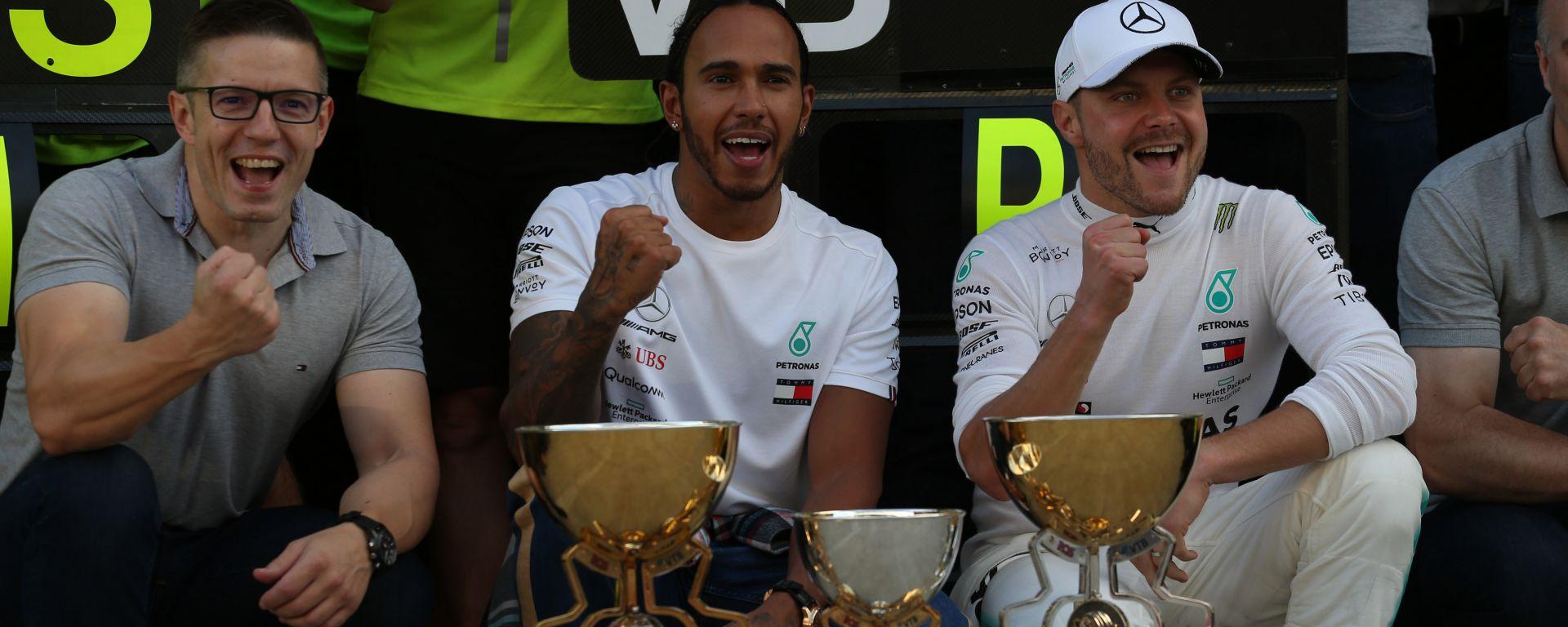 """Hamilton: """"Bottas è sempre stato rispettoso"""""""