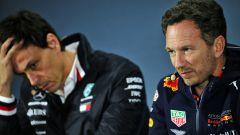 "Red Bull vs Mercedes, Horner: ""Mi diverto se Wolff si arrabbia"""