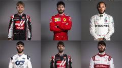 Hamilton, Leclerc & Co.: i look da quarantena