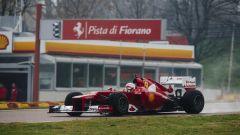 F1, i primi giri di Sebastian Vettel con la Ferrari F2012 a Fiorano nel novembre del 2014
