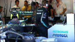 F1, il box della Mercedes