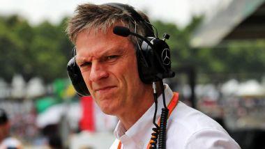 F1: il Chief Technical Officer della Mercedes, James Allison