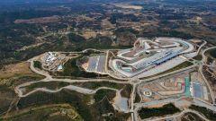 F1, il circuito di Portimao visto dall'alto