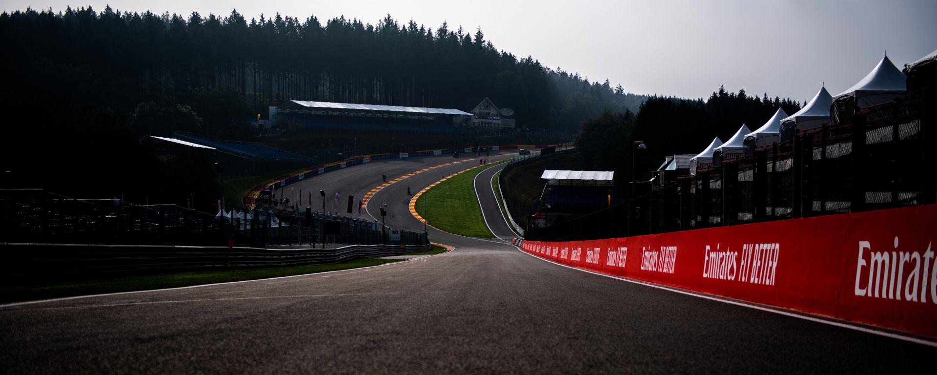 F1: il circuito di Spa, sede del GP Belgio