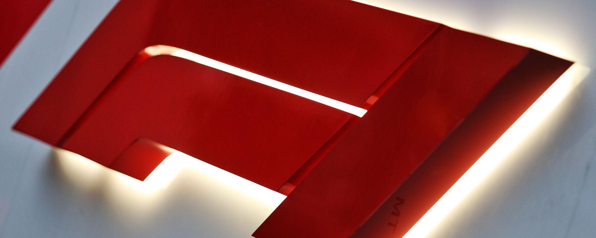 F1, il logo del campionato del mondo di Formula 1