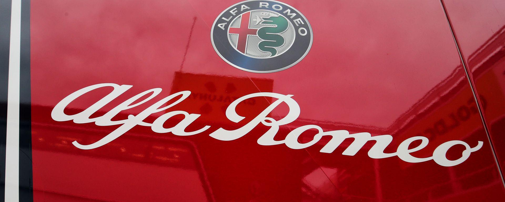 F1, il logo del team Alfa Romeo Racing