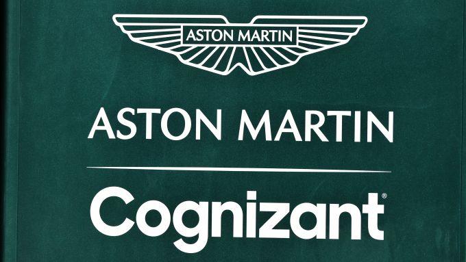 F1, il logo del team Aston Martin Racing Formula 1