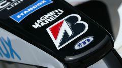 F1, il logo della Minardi sulla monoposto 2004