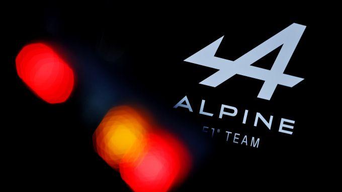 F1, il logo dell'Alpine Formula 1 Team
