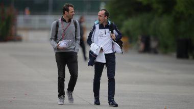 F1: il presidente della GPDA, Alexander Wurz insieme a Robert Kubica