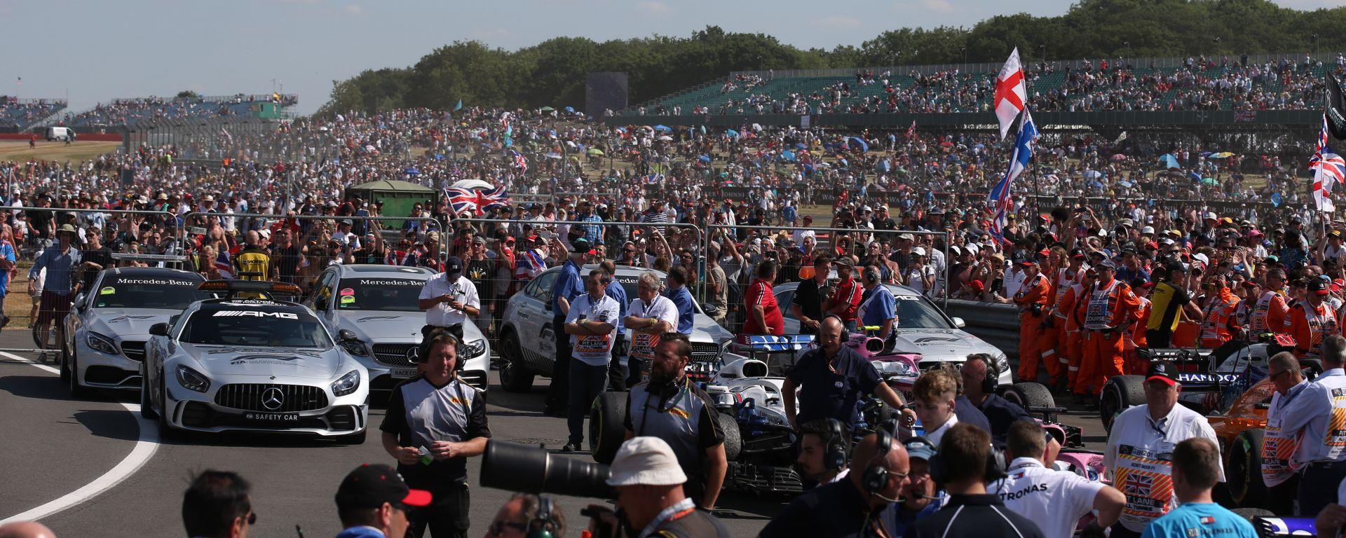 F1: il pubblico di Silverstone