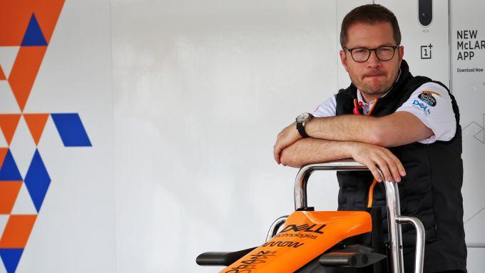F1, il team principal della McLaren, Andreas Seidl
