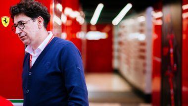 F1, il team principal della Scuderia Ferrari, Mattia Binotto